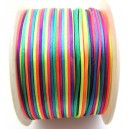 (1 metru) Snur nylon multicolor 1.5mm