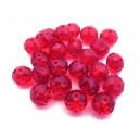 MFR286 - Cristale rosu intens rondele fatetate 10*7mm