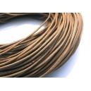 DISPONIBIL 5 METRI - SPN1.5mm-19 - (1 metru) Snur piele naturala naturala 1.5mm