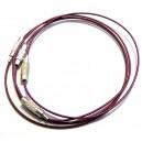 BRS18 - Baza bratara sarma siliconata violet 01 19cm - STOC FOARTE LIMITAT!!!