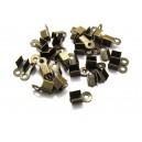 CM83 - (20 buc.) Capat snur bronz antic 9*3.5mm
