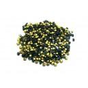 STR2.0-2.1mm - (10 buc.) Strasuri conice cristale verde smarald 2.0-2.1mm