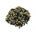 STR2.4-2.5mm - (10 buc.) Strasuri conice cristale verde smarald 2.4-2.5mm
