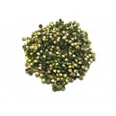 STR2.7-2.8mm - (10 buc.) Strasuri conice cristale olive 2.7-2.8mm