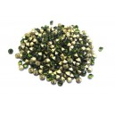 STR3.0-3.2mm - (10 buc.) Strasuri conice cristale olive 3.0-3.2mm