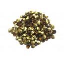 STR3.4-3.5mm - (10 buc.) Strasuri conice cristale cognac 3.4-3.5mm