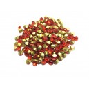 STR3.4-3.5mm - (10 buc.) Strasuri conice cristale rosii 3.4-3.5mm
