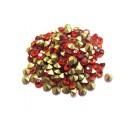STR3.8-4mm - (10 buc.) Strasuri conice cristale rosii 3.8-4.0mm