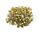 STR3.8-4mm - (10 buc.) Strasuri conice cristale clear 3.8-4.0mm
